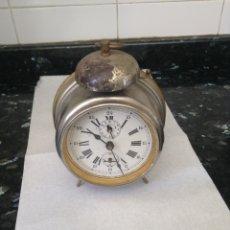 Despertadores antiguos: RELOJ DESPERTADOR. FUNCIONA. Lote 87001322