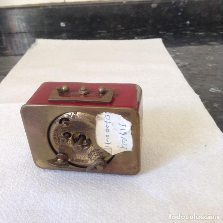 Despertadores antiguos: Reloj despertador DEP. Funciona - Foto 2 - 87008839