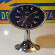 Despertadores antiguos: RELOJ DESPERTADOR JERGER GERMANY. Lote 87015204