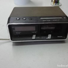 Despertadores antiguos: RELOJ RADIO DESPERTADOR. Lote 87393328