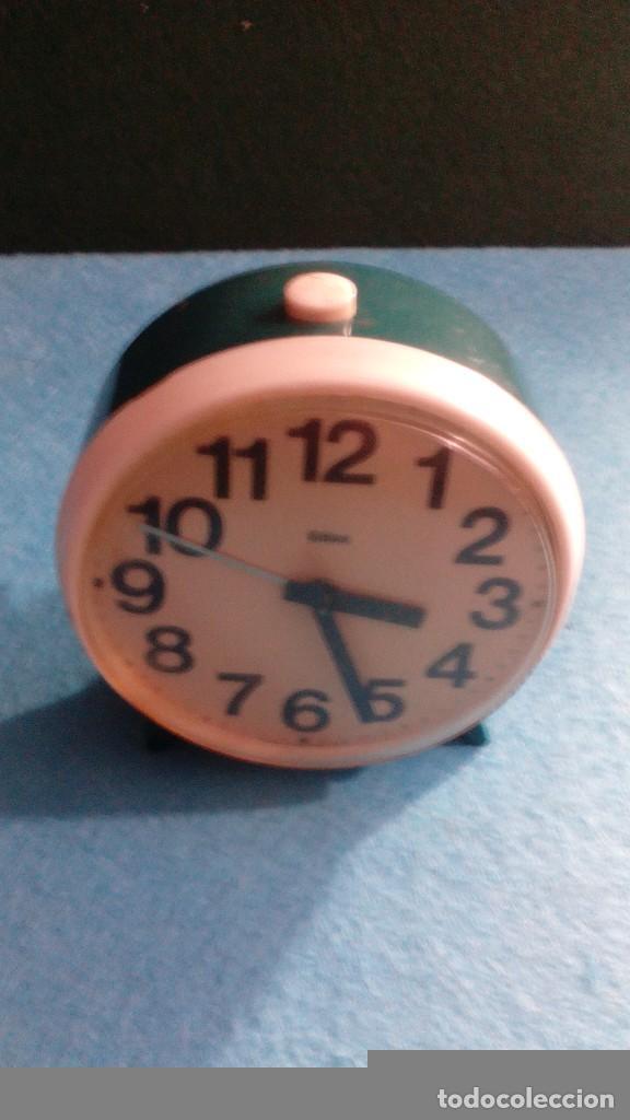 RELOJ DESPERTADOR GITIME FUNCIONANDO MEDIDAS 8X4 CM (Relojes - Relojes Despertadores)