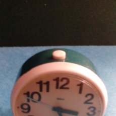Despertadores antiguos: RELOJ DESPERTADOR GITIME FUNCIONANDO MEDIDAS 8X4 CM. Lote 87496328