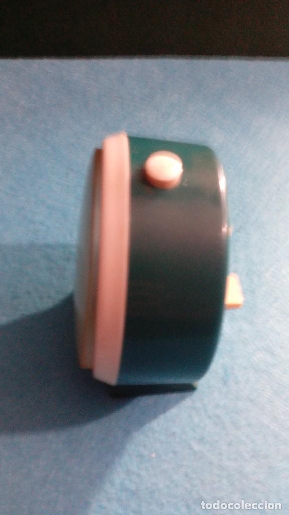 Despertadores antiguos: RELOJ DESPERTADOR GITIME FUNCIONANDO MEDIDAS 8X4 CM - Foto 3 - 87496328