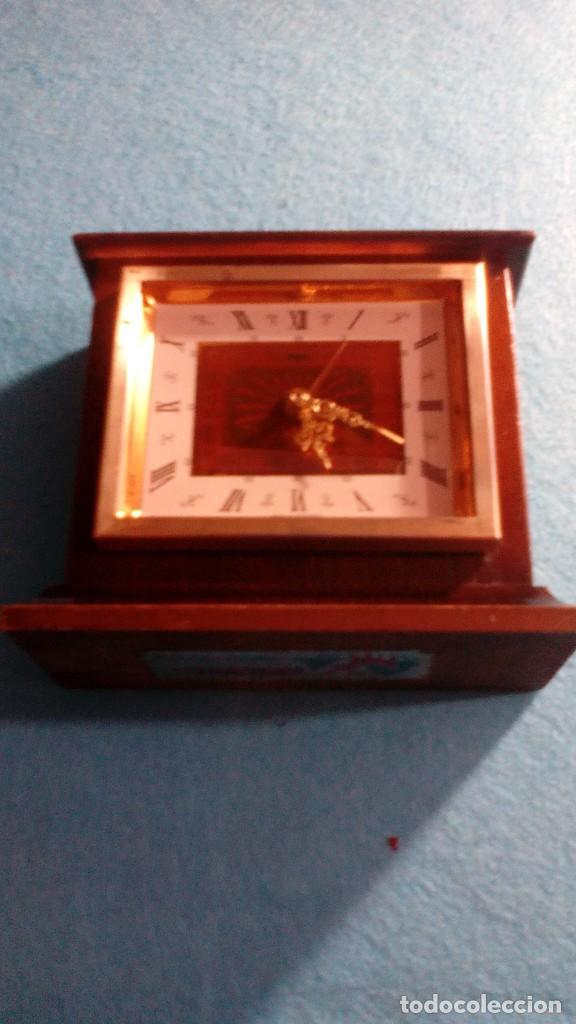RELOJ DESPERTADOR PEKA GERMANY MEDIDAS 10X12X5 CM (Relojes - Relojes Despertadores)