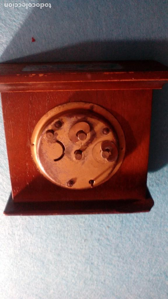 Despertadores antiguos: RELOJ DESPERTADOR PEKA GERMANY MEDIDAS 10X12X5 CM - Foto 4 - 87533932