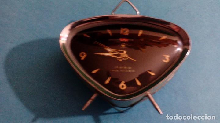 RELOJ DESPERTADOR FUNCIONANDO MEDIDAS 15X10X4 CM (Relojes - Relojes Despertadores)