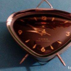 Despertadores antiguos: RELOJ DESPERTADOR FUNCIONANDO MEDIDAS 15X10X4 CM. Lote 88522092