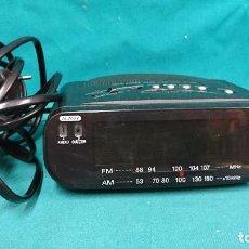 Despertadores antiguos: RADIO RELOJ DESPERTADOR SONY. Lote 89146656