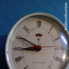 Despertadores antiguos: RELOJ DESPERTADOR FUNCIONANDO MEDIDAS 12X10X3 CM. Lote 89270268