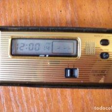 Despertadores antiguos: RELOJ DESPERTADOR SEIKO. Lote 89662720