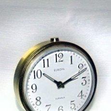 Despertadores antiguos: DESPERTADOR SOBREMESA EUROPA, ALEMÁN. Lote 90143712