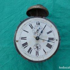 Despertadores antiguos: LOTE PIEZAS RELOJ DESPERTADOR. Lote 90216912