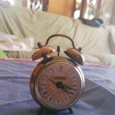 Despertadores antiguos: RELOJ DESPERTADOR A CUERDA. Lote 90345327