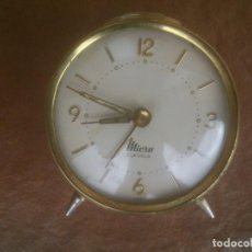 Despertadores antiguos: RELOJ DESPERTADOR MICRO. 2 JEWELS.. Lote 90924885