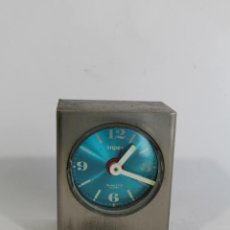 Despertadores antiguos: RELOJ DESPERTADOR IMPEX QUARTZ TRANSSITOR ALARM - JAPAN . Lote 91221955