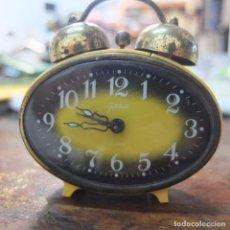Despertadores antiguos: RELOJ DESPERTADOR GOLDBUHL- ALEMANIA-FUNCIONA. Lote 91655950