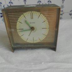 Despertadores antiguos: RELOJ DESPERTADOR DE METAL MARCA GAMA. Lote 93467204
