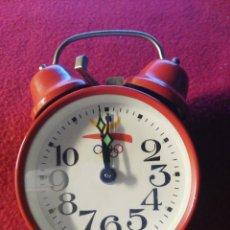 Despertadores antiguos: RELOJ OLIMPIADAS DE BARCELONA. Lote 95022199