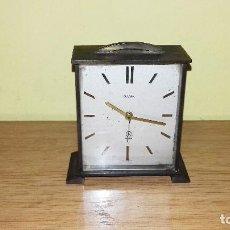 Despertadores antiguos: ANTIGUO RELOJ DESPERTADOR GAMA.NO FUNCIONA.. Lote 95239383