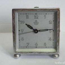 Despertadores antiguos: RELOJ DESPERTADOR THIEL. Lote 185970256