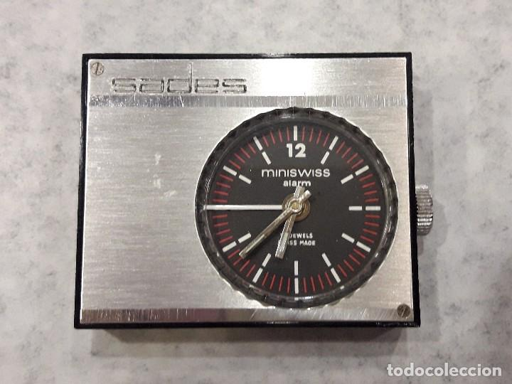 RELOJ DESPERTADOR DE VIAJE SADES (Relojes - Relojes Despertadores)