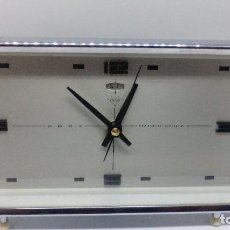 Despertadores antiguos: RELOJ DESPERTADOR FUNCIONANDO. Lote 96789347