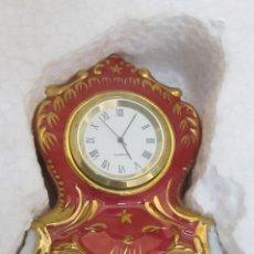 Despertadores antiguos: RELOJ DE PORCELANA - GALERÍA DEL COLECCIONISTA. Lote 97070859