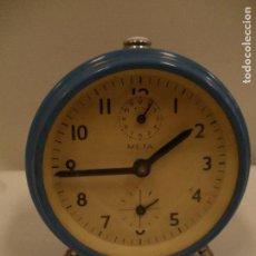 Despertadores antiguos: DESPERTADOR META-. Lote 97104327