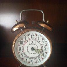 Despertadores antiguos: RELOJ DESPERTADOR ALEMAN. Lote 97297467