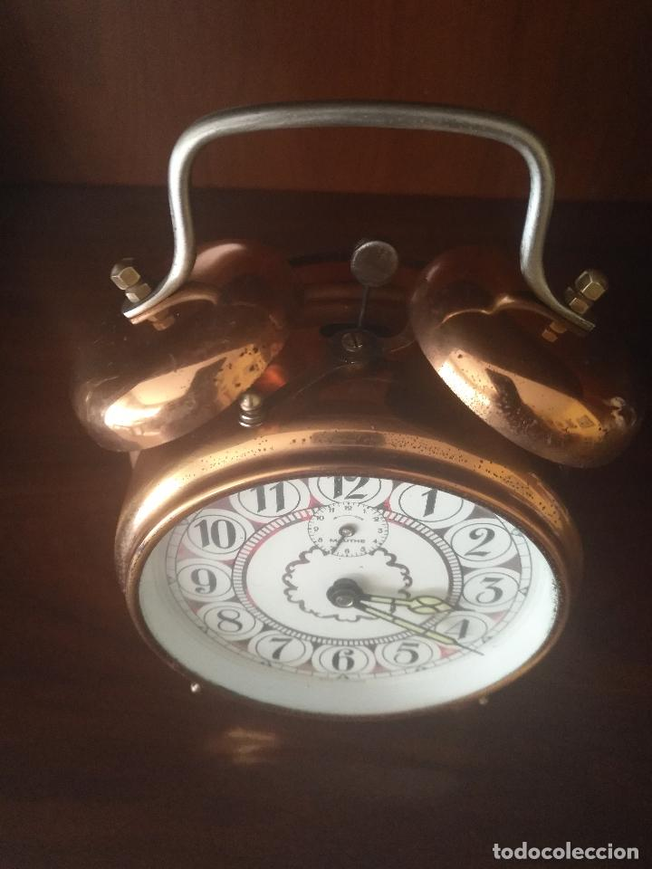 Despertadores antiguos: Reloj despertador aleman - Foto 2 - 97297467