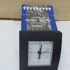 Despertadores antiguos: RELOJ DESPERTADOR QUARTZ. Lote 98225447