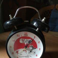 Despertadores antiguos: RELOJ- DESPERTADOR. DE LA REVISTA EL JUEVES. Lote 98352666