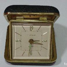 Despertadores antiguos: RELOJ DESPERTADOR MARCA EUROPA. Lote 98979291