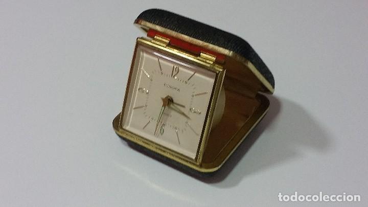Despertadores antiguos: RELOJ DESPERTADOR MARCA EUROPA - Foto 3 - 98979291