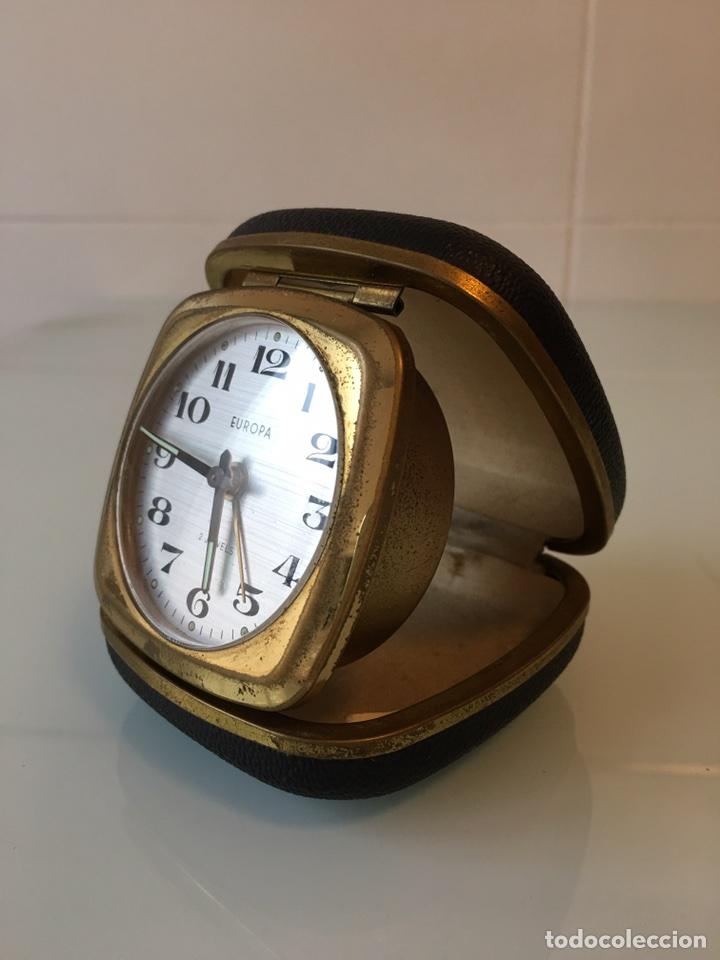 ANTIGUO RELOJ DESPERTADOR DE VIAJE AÑOS 50 - GERMANY (Relojes - Relojes Despertadores)