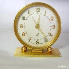 Despertadores antiguos: RELOJ DESPERTADOR ANTIGUO FRANCÉS, JAZ. Lote 100729827