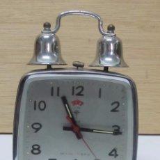 Despertadores antiguos: RELOJ DESPERTADOR POLARIS. Lote 102611551