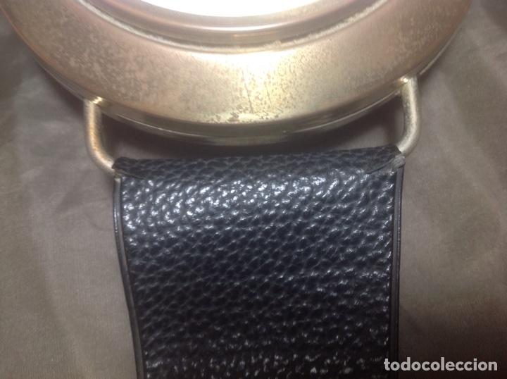 Despertadores antiguos: Reloj de pulsera gigante en latón y plástico publicidad Telasa S.A. Caracas - Foto 7 - 103286759