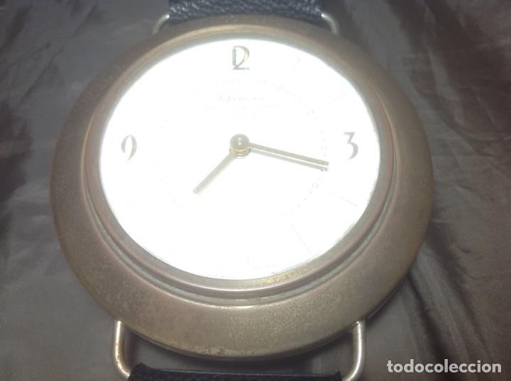 Despertadores antiguos: Reloj de pulsera gigante en latón y plástico publicidad Telasa S.A. Caracas - Foto 10 - 103286759