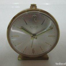 Despertadores antiguos: RELOJ DESPERTADOR - MARCA DUWARD DE LUXE. Lote 104140199