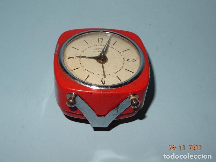 Despertadores antiguos: Antiguo Reloj Despertador OBAYARDO 2 Jewells - Foto 3 - 105315247