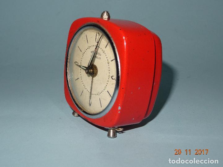 Despertadores antiguos: Antiguo Reloj Despertador OBAYARDO 2 Jewells - Foto 5 - 105315247
