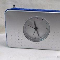 Despertadores antiguos: RADIO RELOJ DESPERTADOR . Lote 105752619