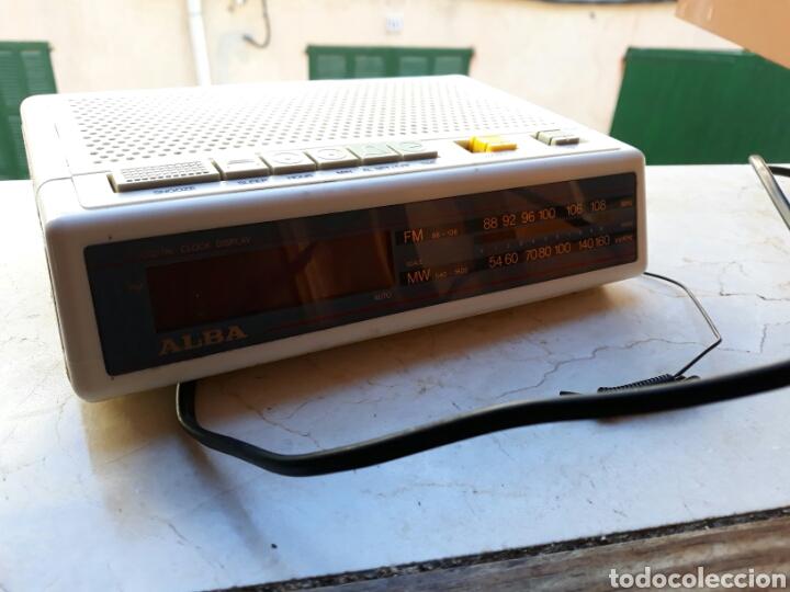 RELOJ RADIO DESPERTADOR ALBA (Relojes - Relojes Despertadores)