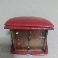 Despertadores antiguos: RELOJ DESPERTADOR SWISS MADE. Lote 106666083