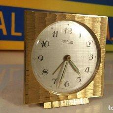 Despertadores antiguos: RELOJ DESPERTADOR KAISER FUNCIONANDO. Lote 107224499