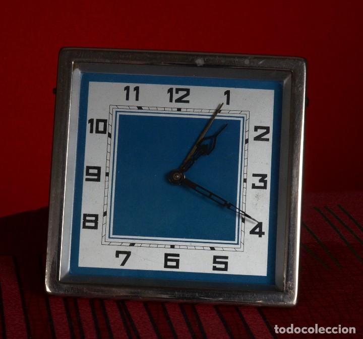 DESPERTADOR DE CUERDA, VINTAGE, POSIBLEMENTE DE 1952 (Relojes - Relojes Despertadores)