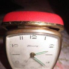 Despertadores antiguos: RELOJ DESPERTADOR BLESSING. Lote 107509811