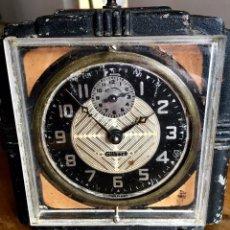 Despertadores antiguos: GRAN DESPERTADOR AMERICANO. GILBERT. MADE IN USA. FUNCIONANDO. PP SIGLO XX. Lote 107643343