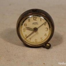 Despertadores antiguos: RELOJ DESPERTADOR OBAYARDO 2 JEWELS - MADE IN SPAIN. Lote 107867867